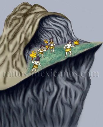 Leyendas mexicanas - Imagen leyenda de Xtacumbil-Xunaan