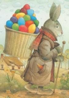 Imagen de la leyenda del conejo de pascuas