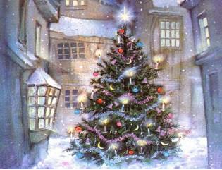 La Navidad. IV. El origen del Árbol de Navidad.