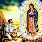 Las apariciones de la Virgen de Guadalupe.