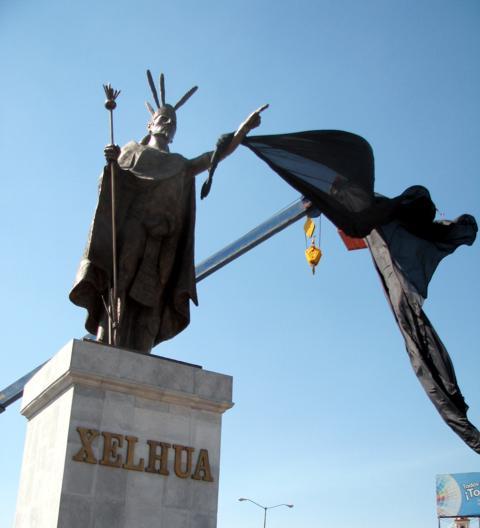 Xelhua y el Tlachihualtépetl