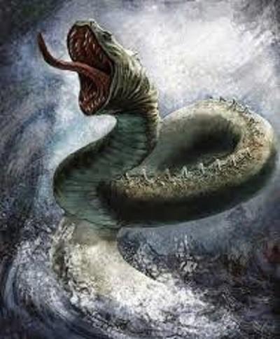 Maija Awui dios Serpiente del Agua