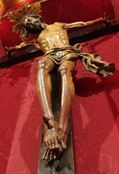 El Cristo enterrado