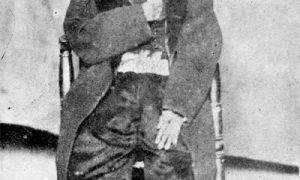 Tomás Mejía y su viuda
