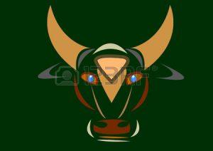 El hermoso Toro de los Cuernos de oro