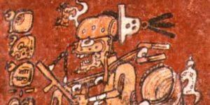 El dios maya del Inframundo
