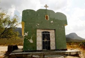 La ermita que guarda los restos del Ánima de Anacahuita.