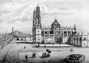 La hermosa Ciudad de Valladolid, hoy Morelia, Michoacán.