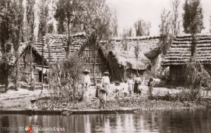 Las casas de los campesinos insomnes de Xochimilco