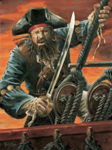 El nefasto pirata Barbillas
