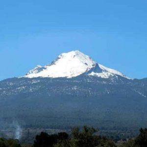 El bello volcán La Malinche