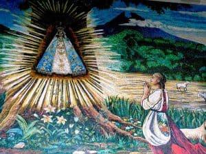 La Virgen y la pastorcita