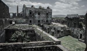 La abandonada Ex Hacienda de Coahuixtla