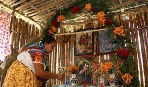 El Altar de Muertos y la Ofrenda