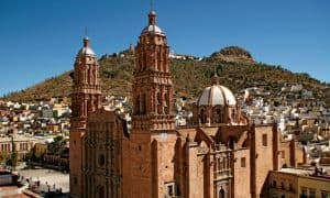 La bella Catedral de Zacatecas