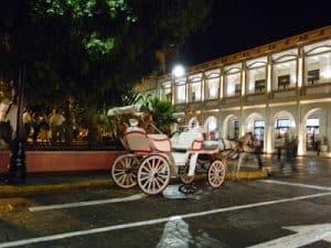 Una calesa de Mérida