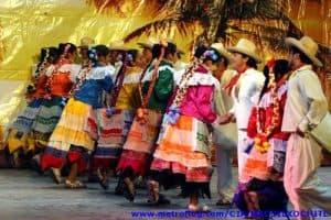 Los mazahuas bailan para su Creador
