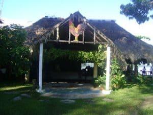 Una cabaña en la Isla del Gallo