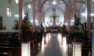 La Iglesia del Señor del Perdón en Temazcaltepec