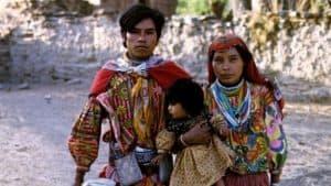 Familia huichol