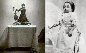 La pequeña Lucía Zárate