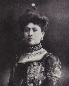 El retrato de Amada Díaz, la primera hija de Porfirio Díaz.