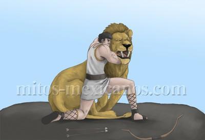 Hercules y el Leon - Leyenda Griega