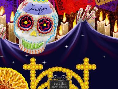 dia de los muertos en Mexico