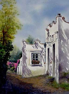Casa blanca imagen