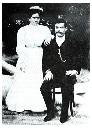 Emiliano Zapata y Josefa Espejo