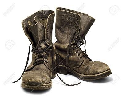 Las botas del patio