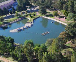 Vista del Parque Guadiana en Durango,