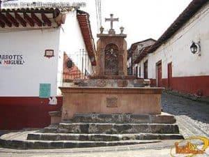 La Pila de San Miguel en el Pueblo Mágico de Pátzcuaro.