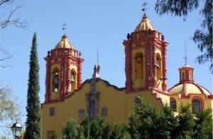 Templo de San Miguelito en San Luis Potosí