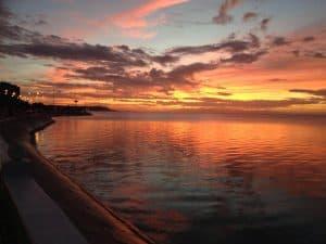El bello malecón de Campeche