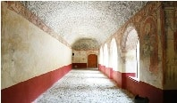 Un pasillo del Convento de Hermosillo, Sonora