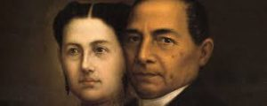 Margarita y Benito Juárez