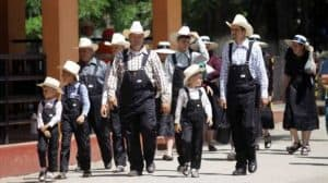 Grupo de menonitas de Chihuahua